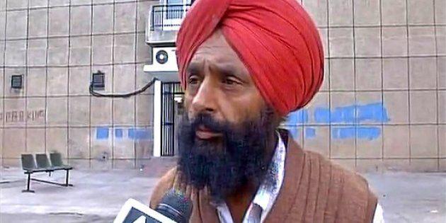 Slain BSF soldier Gurnam Singh's father