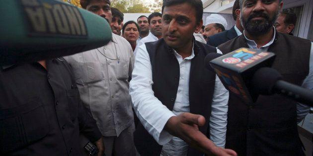 Akhilesh Yadav in 2012. REUTERS/Parivartan