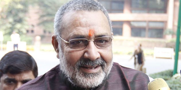 Union Minister Giriraj Singh Urges Hindus To 'Increase Their