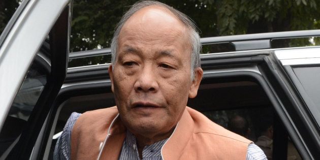 Manipur CM Okram Ibobi Singh Escapes Unhurt As Militants Open Fire At Ukhrul