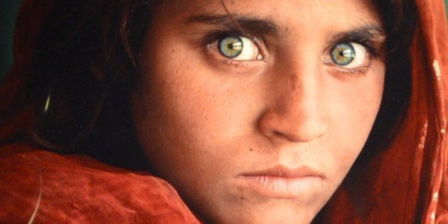 'Afghan Girl, 1984' by photographer Steve