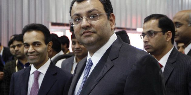 Cyrus Mistry on 5 February 2014 in Greater Noida. (Photo by Virendra Singh Gosain/Hindustan