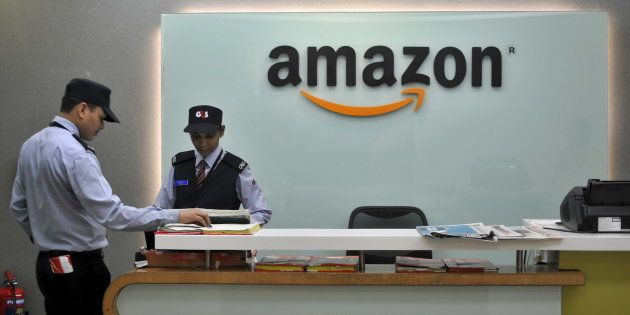 The Amazon India office in Bengaluru, India, August 14, 2015. REUTERS/Abhishek N.