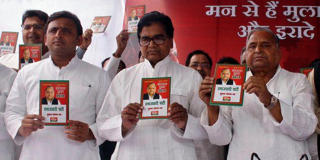Mulayam And Shivpal Yadav Join Akhilesh's Rath Yatra, Send Message Of