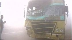 Dense Fog Causes 20-Car Pile-Up On Yamuna
