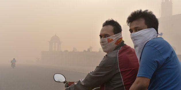 Why Isn't Delhi's 'Death Sentence' Smog Being Declared A Public Health