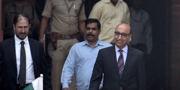 Pakistani Ambassador Abdul Basit leaves Ministry of External
