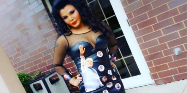 Remember Rakhi Sawant's Modi-Printed LBD? It Has Landed Her In