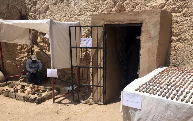 The tomb's