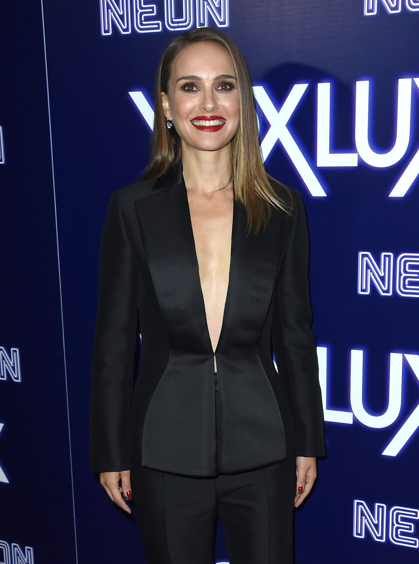 "Natalie Portman arrives at the Los Angeles premiere of ""Vox Lux"" on Wednesday, Dec. 5, 2018, at ArcLight Hollywood. (Photo by Jordan Strauss/Invision/AP)"