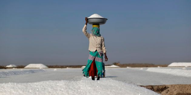 Solar Energy Brings A Ray Of Hope To Salt Farmers In