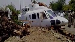 Maharashtra CM Devendra Fadnavis Escapes Unhurt After His Helicopter Crash Lands Near