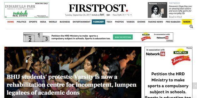 Firstpost Chief Reporter Gets Death Threats, Told 'You Will Meet The Same Fate As Gauri