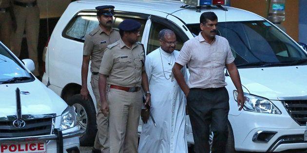 Franco Mulakkal in Kochi on Wednesday.
