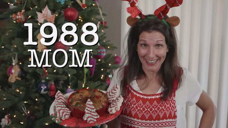Hilarious Video Compares Moms During The Holidays In 1988 And