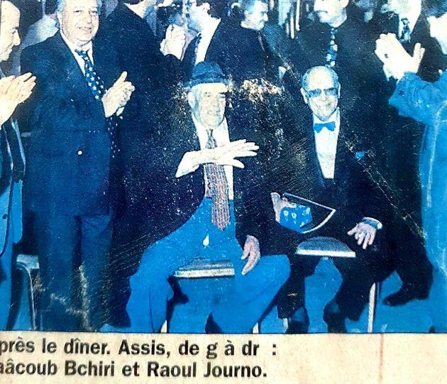 Yakoub Bchiri et Raoul Journo à