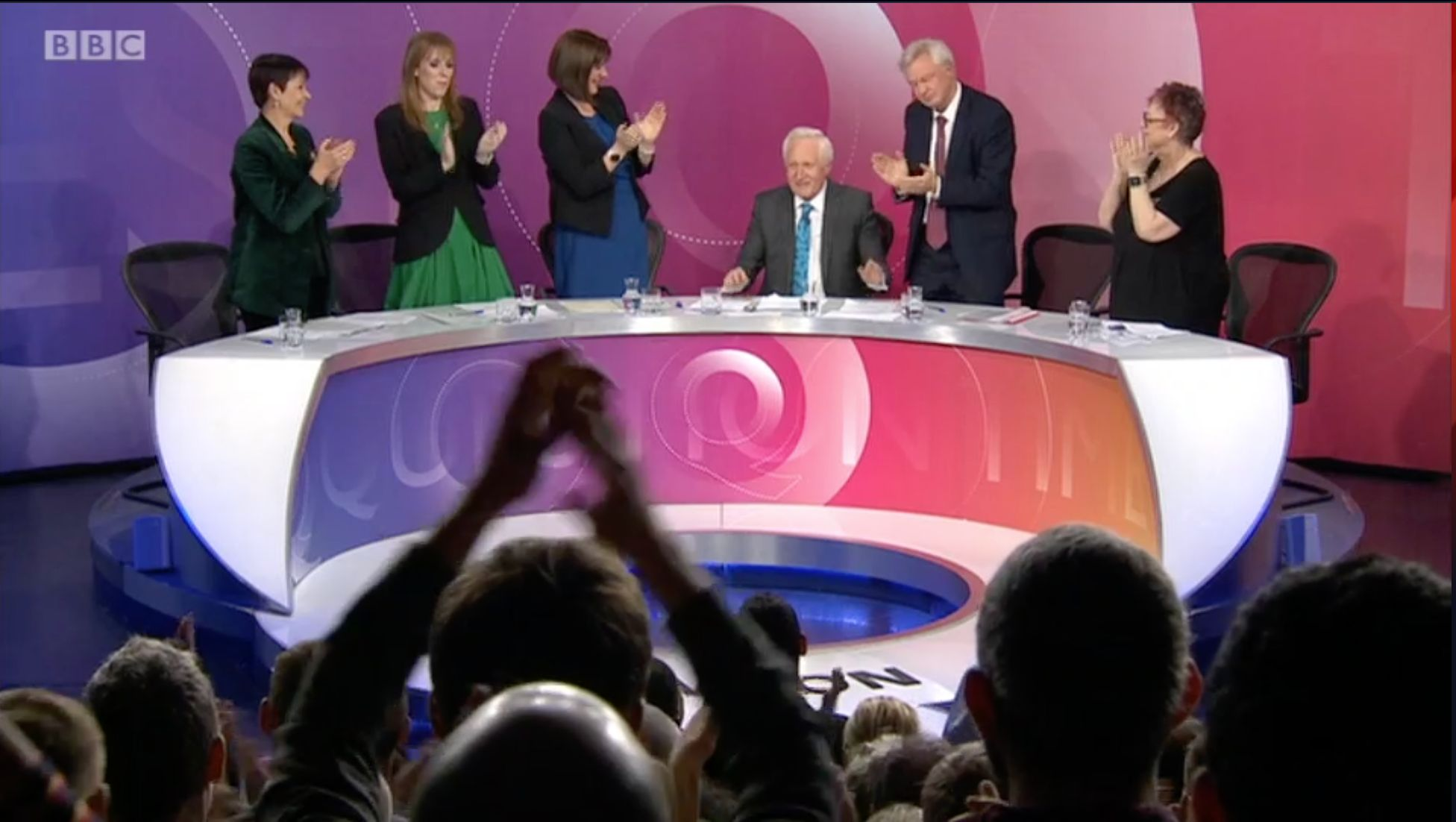 David Dimbleby Receives Standing Ovation As He Signs Off From Question