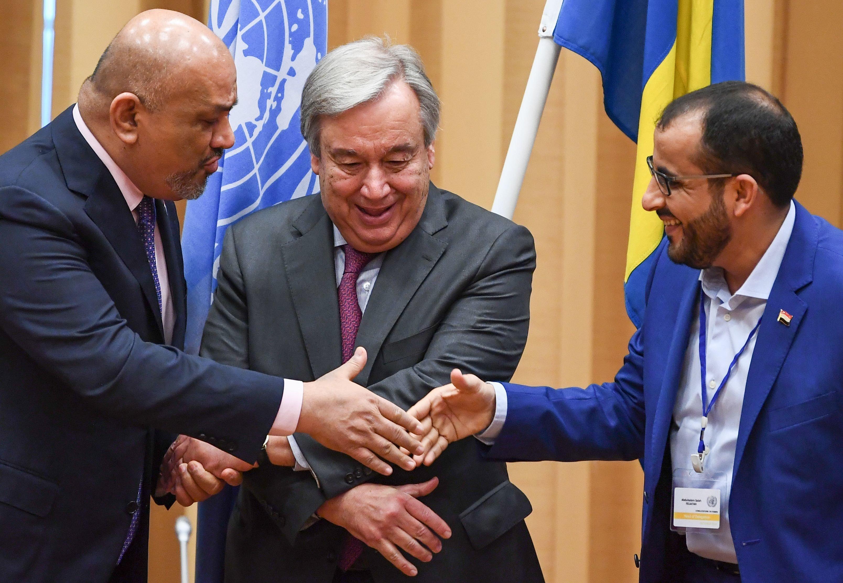 예멘 내전 정부군과 후티 반군이 호데이다 휴전에
