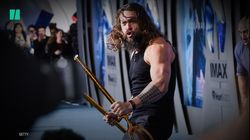 Jason Momoa Heroically Leads A Haka Dance At 'Aquaman'