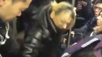 Police arrested Anna Lushchinskaya for attacking an Asian woman on a train in Brooklyn.