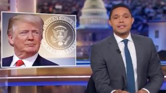 Trevor Noah Skewers Law and Order President