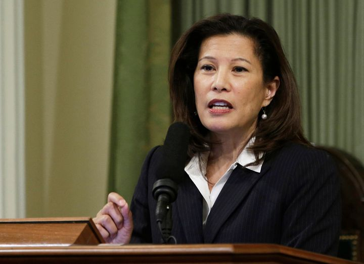 California Supreme Court Chief Justice Tani Cantil-Sakauye said she had been considering leaving the Republican Party for som