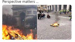 '프랑스 노란 조끼 시위는 언론에 의해 부풀려졌다' 주장에 대한 AFP의