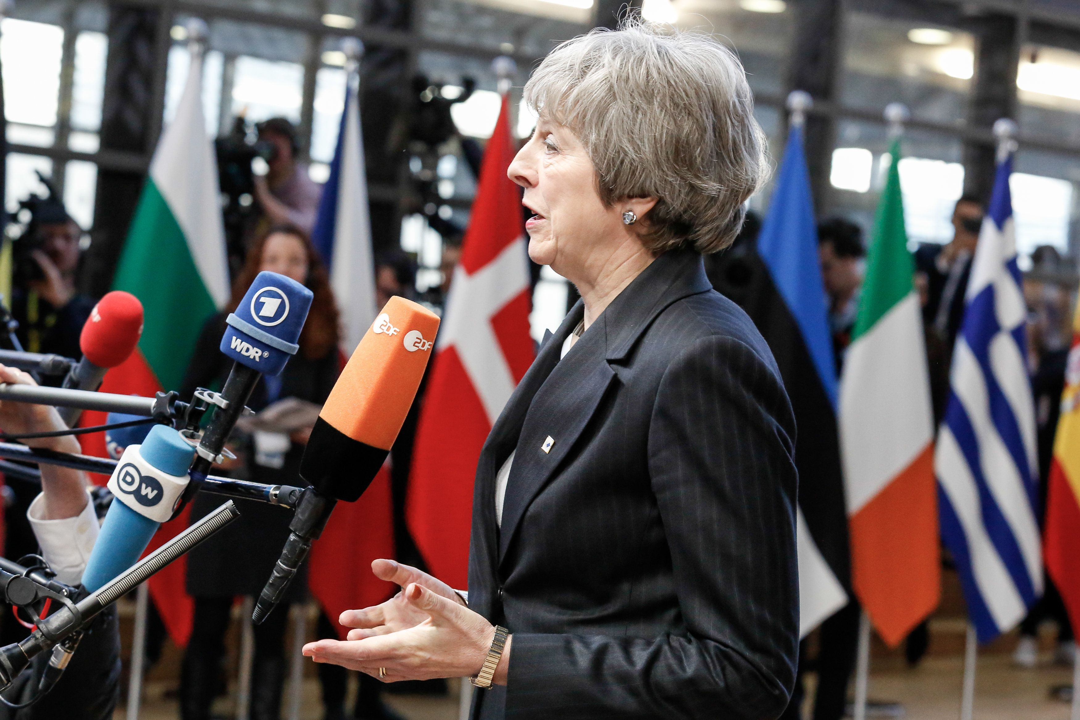 Theresa May vows to secure better Brexit deal