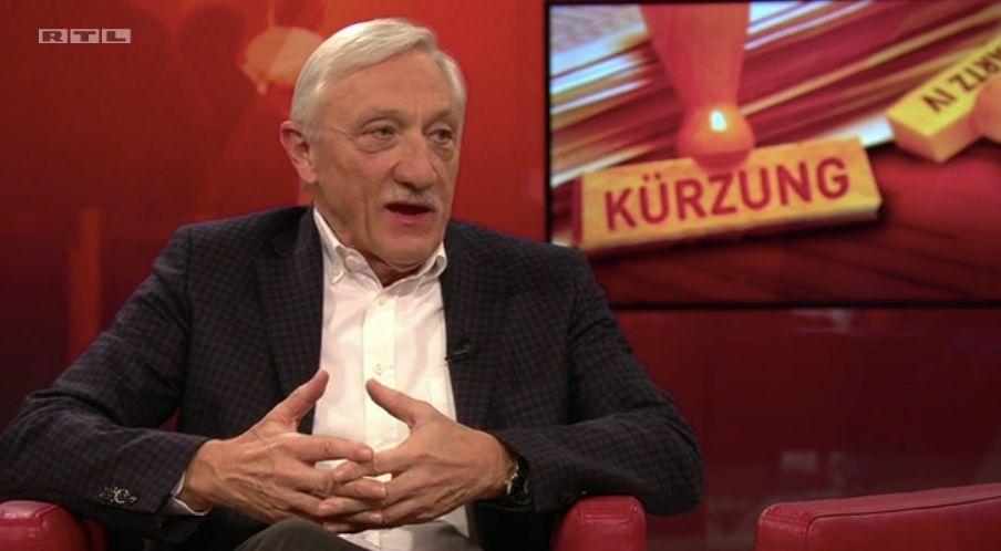 Heinrich Alt, Ex-Arbeitsagentur-Vorstand, war zu Gast bei