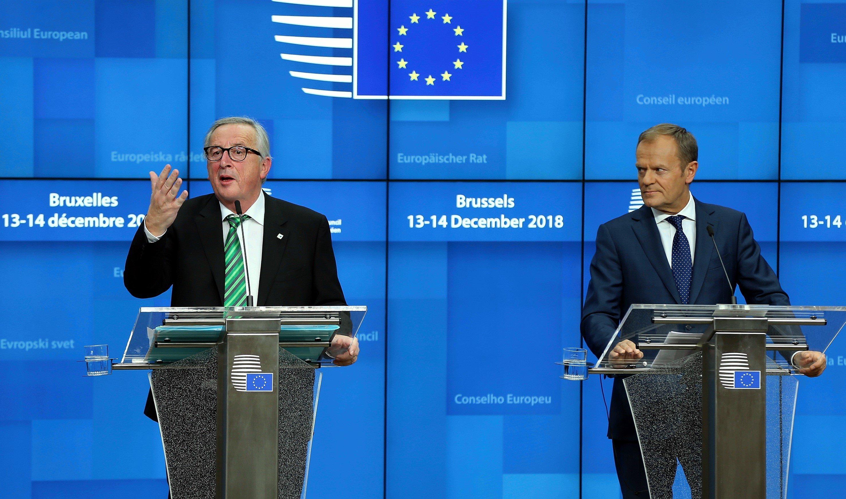 Brexit: Juncker sendet mit Krawatte Botschaft an May – deutlicher wird Luxemburgs