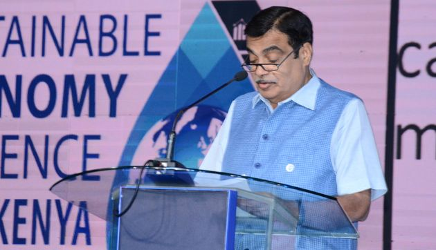 Union Minister Nitin Gadkari in a file