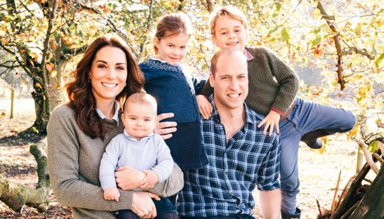 The Royals Have Released Their Christmas Card Photo And We Can't