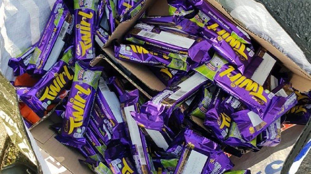 Man Arrested After Being Found With Huge Stash Of Twirl