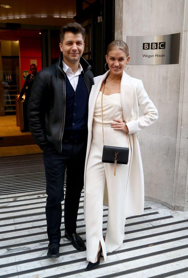Pasha Kovalev and Ashley