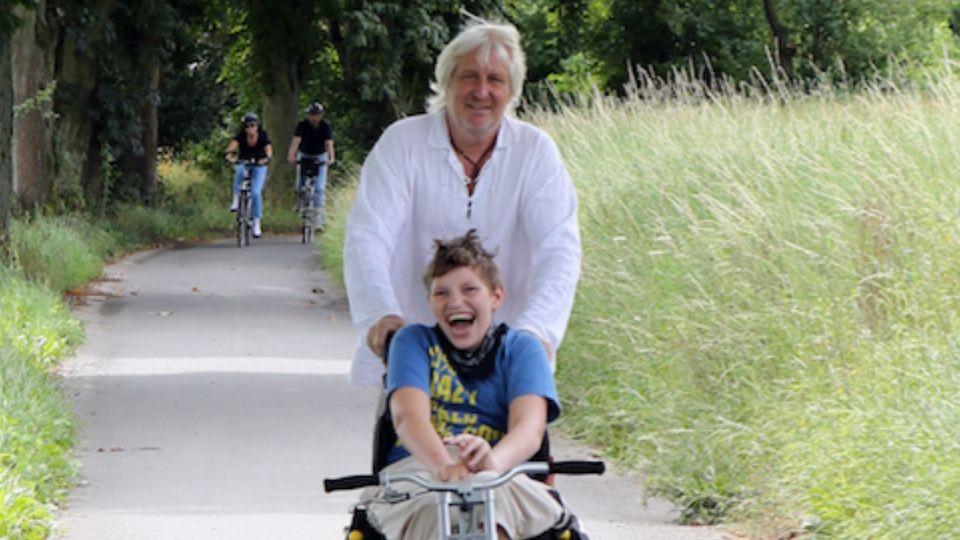 Arnold Schnittger und sein Sohn