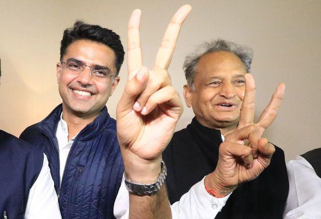 Ashok Gehlot and Sachin