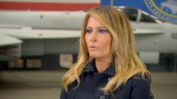 Melania Trump gibt seltenes TV-Interview – und rügt Ehemann