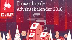 Adventskalender bei CHIP: Jeden Tag eine neue kostenlose