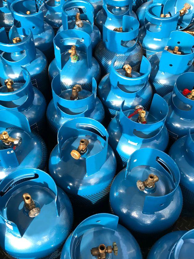 La distribution de gaz domestique en gros sera suspendue à partir de