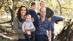 The Royal Family Release Their Christmas Card