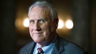 "<p> FILE - In this Sept. 5, 2018, photo, Sen. Jon Kyl, R-Ariz., waits to be sworn-in by Vice President Mike Pence during his ceremonial swearing-in at the Old Senate Chamber on Capitol Hill, in Washington. After years of trying to demolish former President Barack Obama's prized health care law, GOP leaders still lack the votes to succeed. Kyl says he'd vote to repeal the ""Obamacare"" health care law. That's one additional Republican ready to obliterate the statute because his predecessor, the late Sen. John McCain, helped derail the party's drive with his fabled thumbs-down vote last year. It could well be too little, too late. (AP Photo/Cliff Owen) </p>"