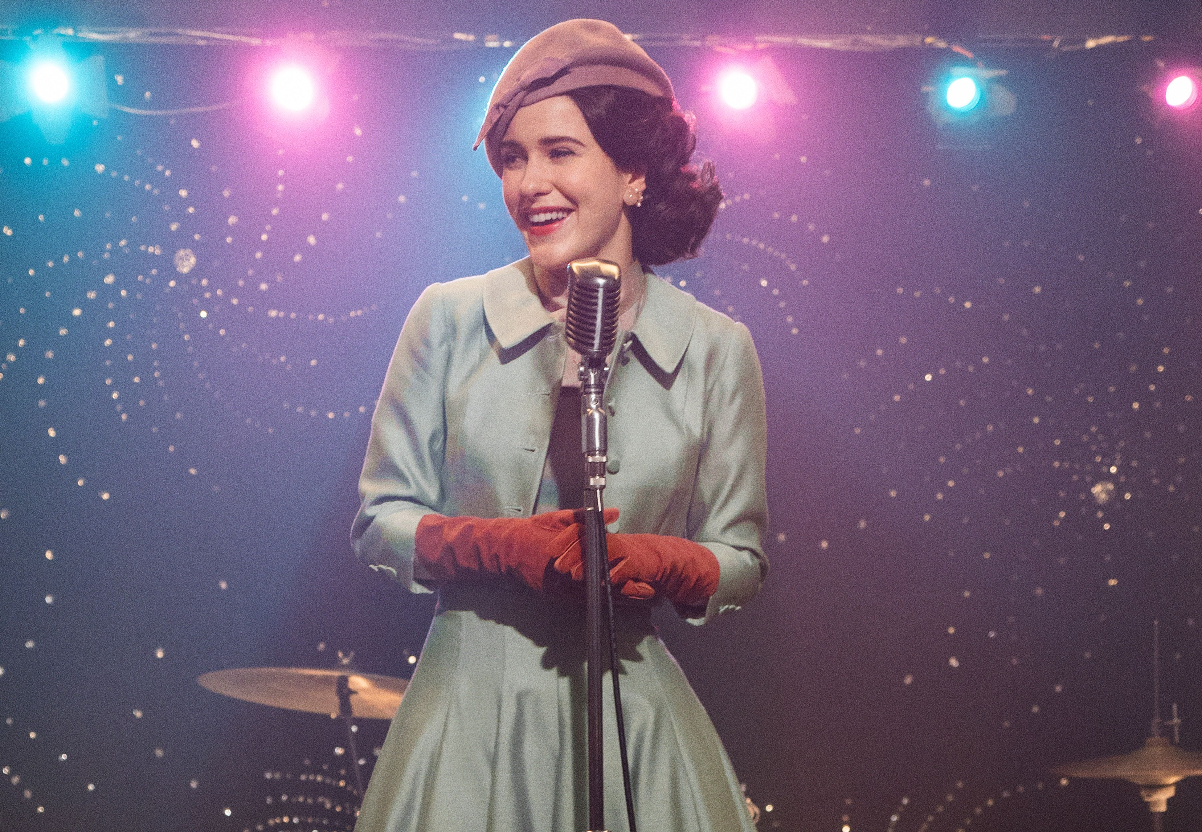 """The Marvelous Mrs. Maisel"" on Amazon Prime."