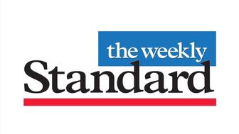 THE WEEKLY STANDARD magazine logo, graphic element on white