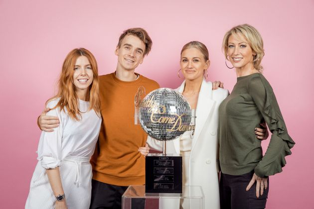 Four contestants reached the Strictly final in 2018
