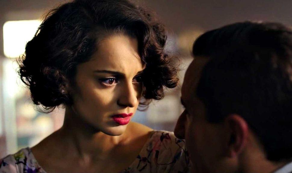 Kangana Ranaut in a still from Vishal Bhardwaj's Rangoon (2017)