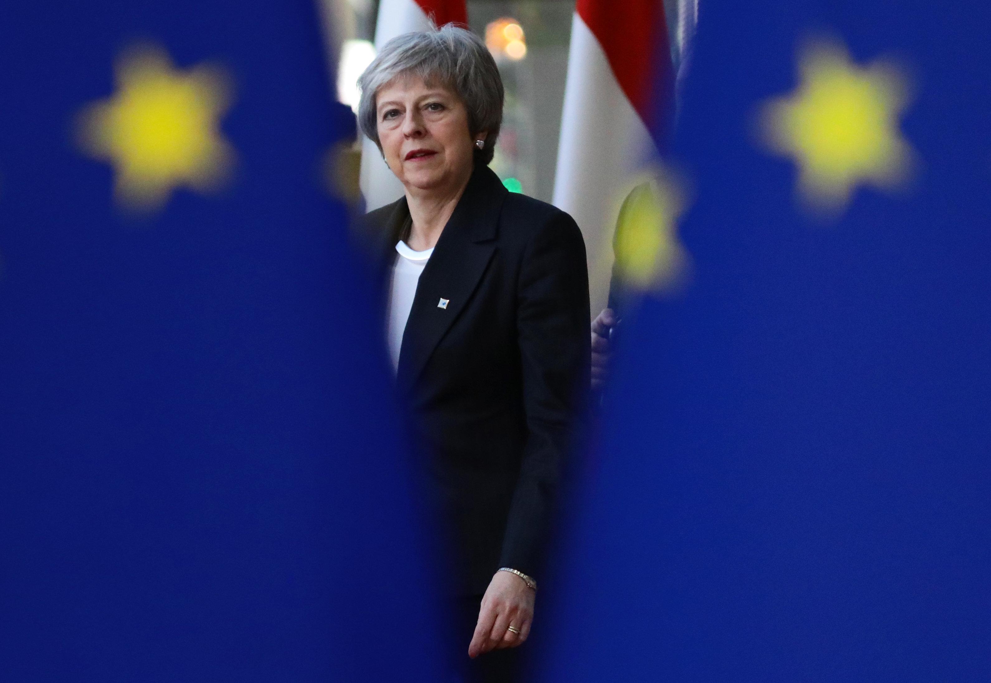 Für Theresa May und Großbritannien scheint sich seit zwei Jahren alles um den EU-Austritt...
