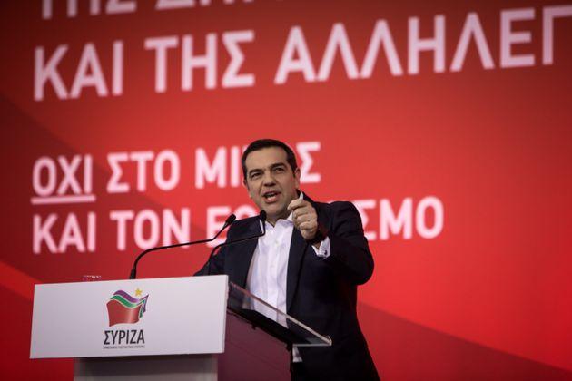 Τσίπρας: Με τη συμφωνία των Πρεσπών βάζουμε τέλος στην παραχάραξη της ιστορίας
