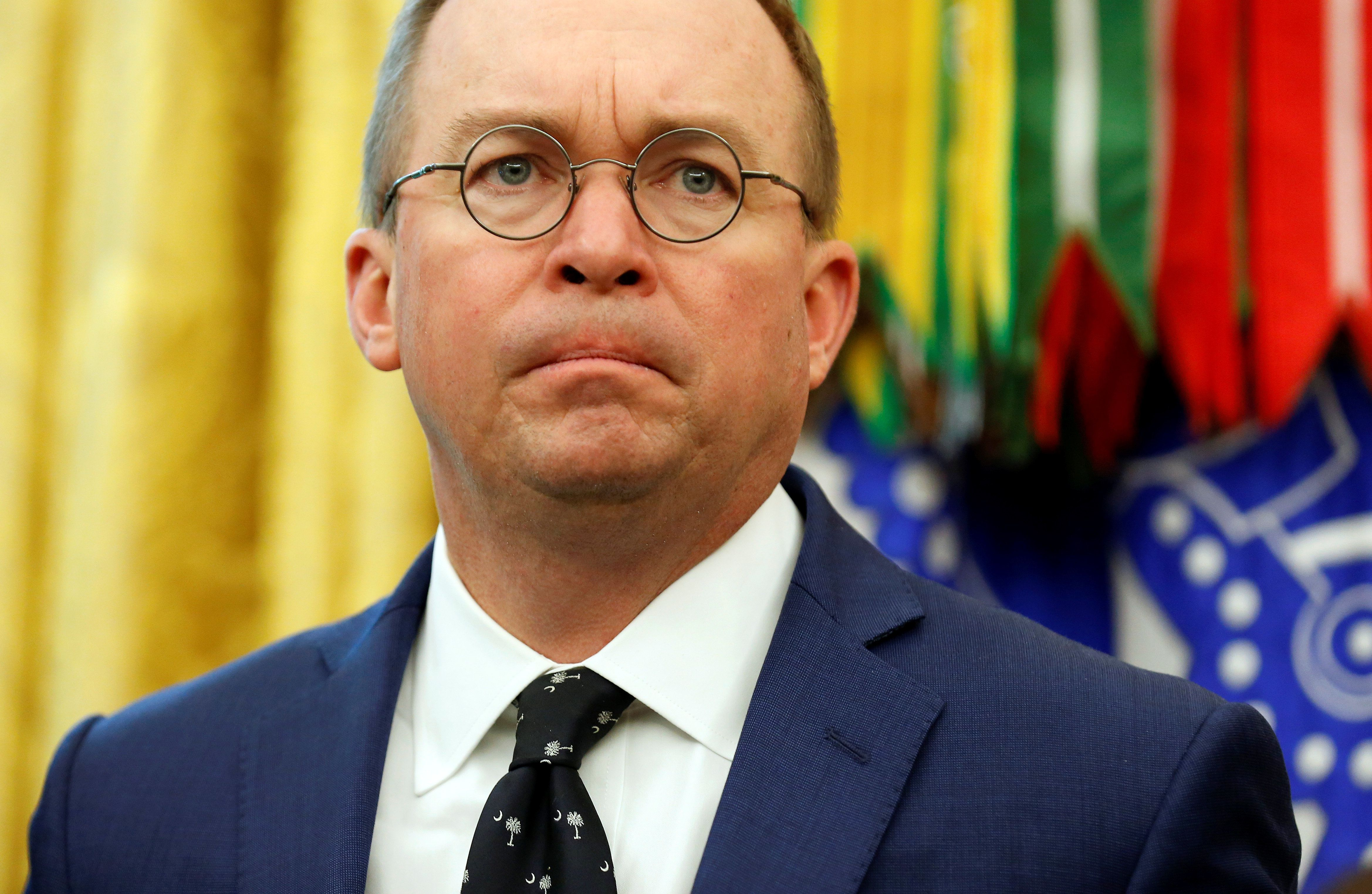 Trump Names Mick Mulvaney As Acting White House Chief Of