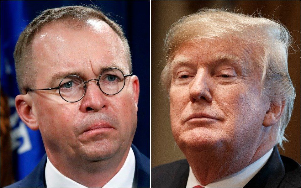Mulvaney and Trump