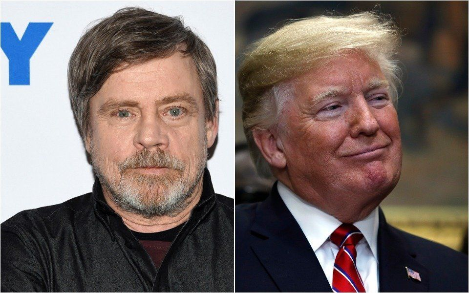 Mark Hamill and Donald Trump
